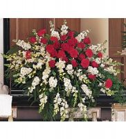 Cherished Moments Casket Spray