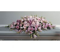 Feminine Tribute Full Casket Spray